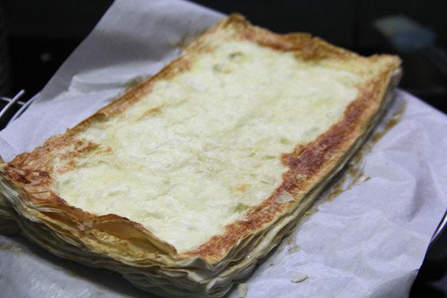 Mushrooms and Onion Tart recipe, mushroom tart, filo tart, easy tart recipe