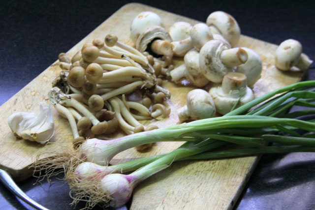 Mushrooms and Onion Tart recipe, mushroom tart, filo tart, easy tart recipe