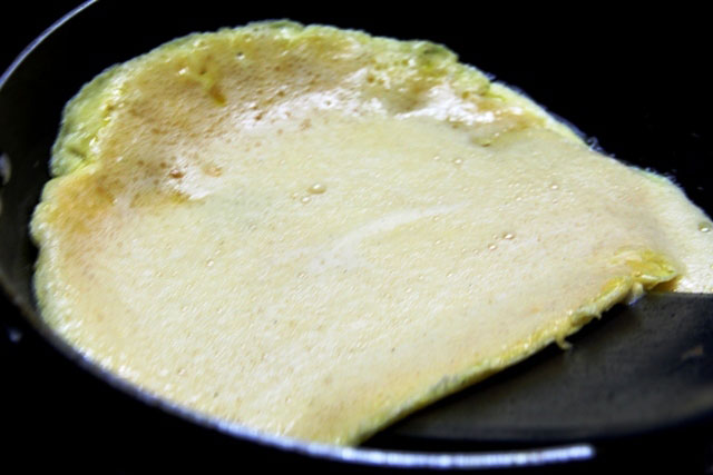 Omelette curry, Egg curry, Omelette in Mustard and tomato curry, Bengali Omelette curry