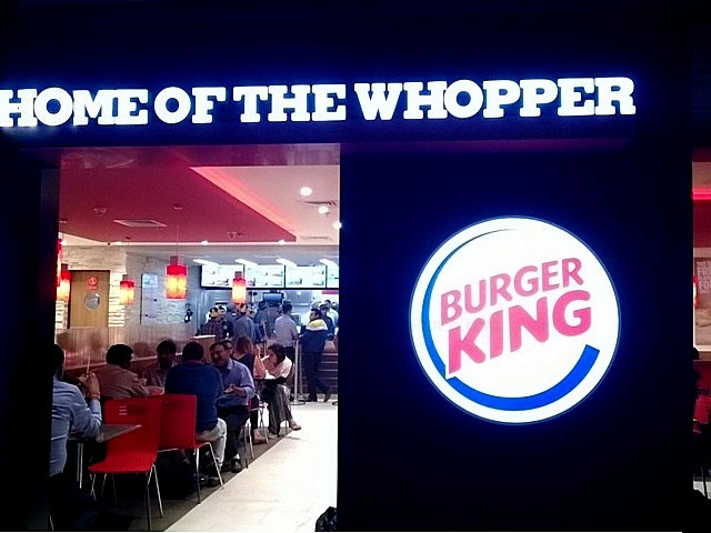 Burger King Select City Walk Delhi, Burger king opens in india, Burger king delhi, Burger king menu, Burger king in Mumbai