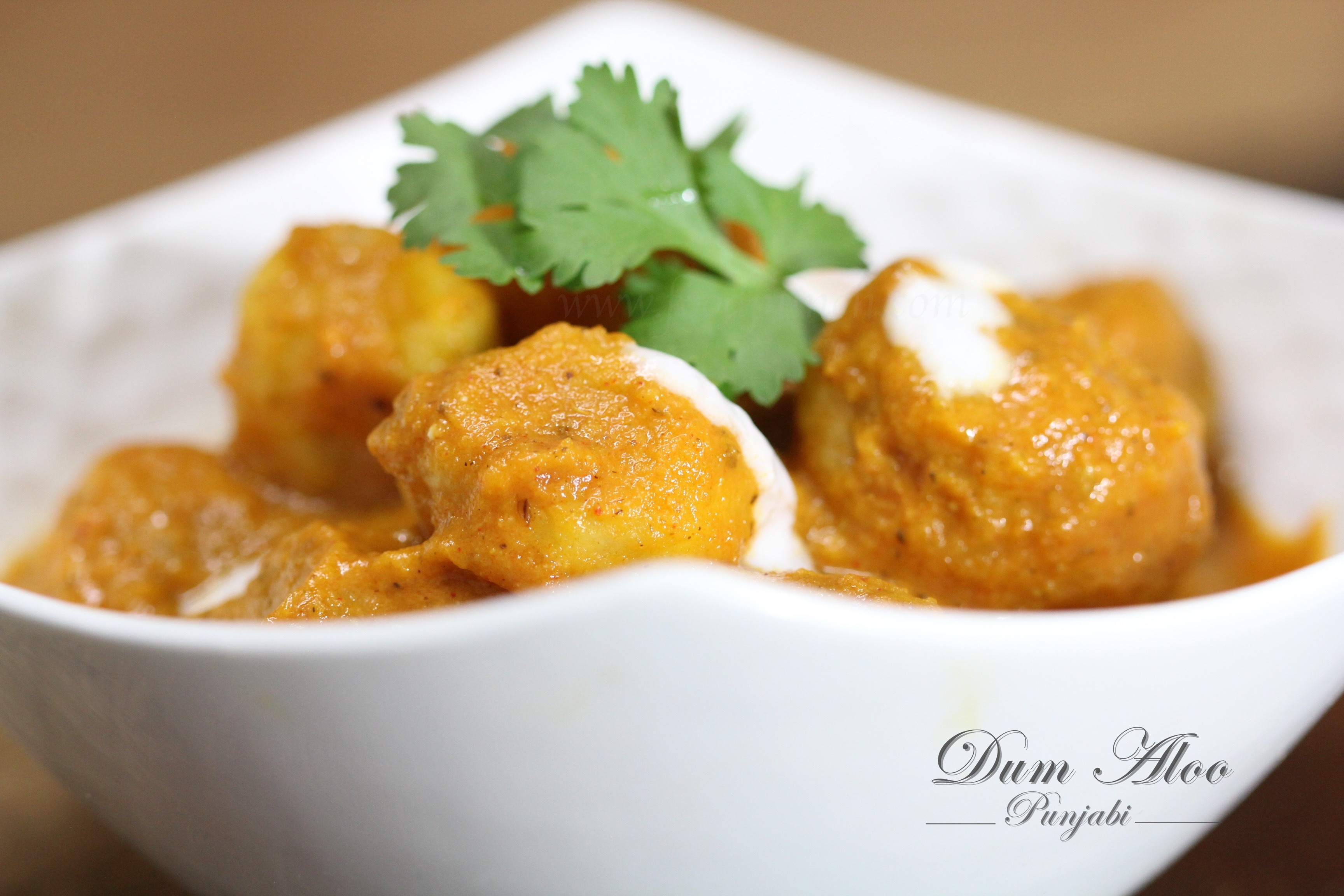 How to make Dum Aloo Punjabi gravy