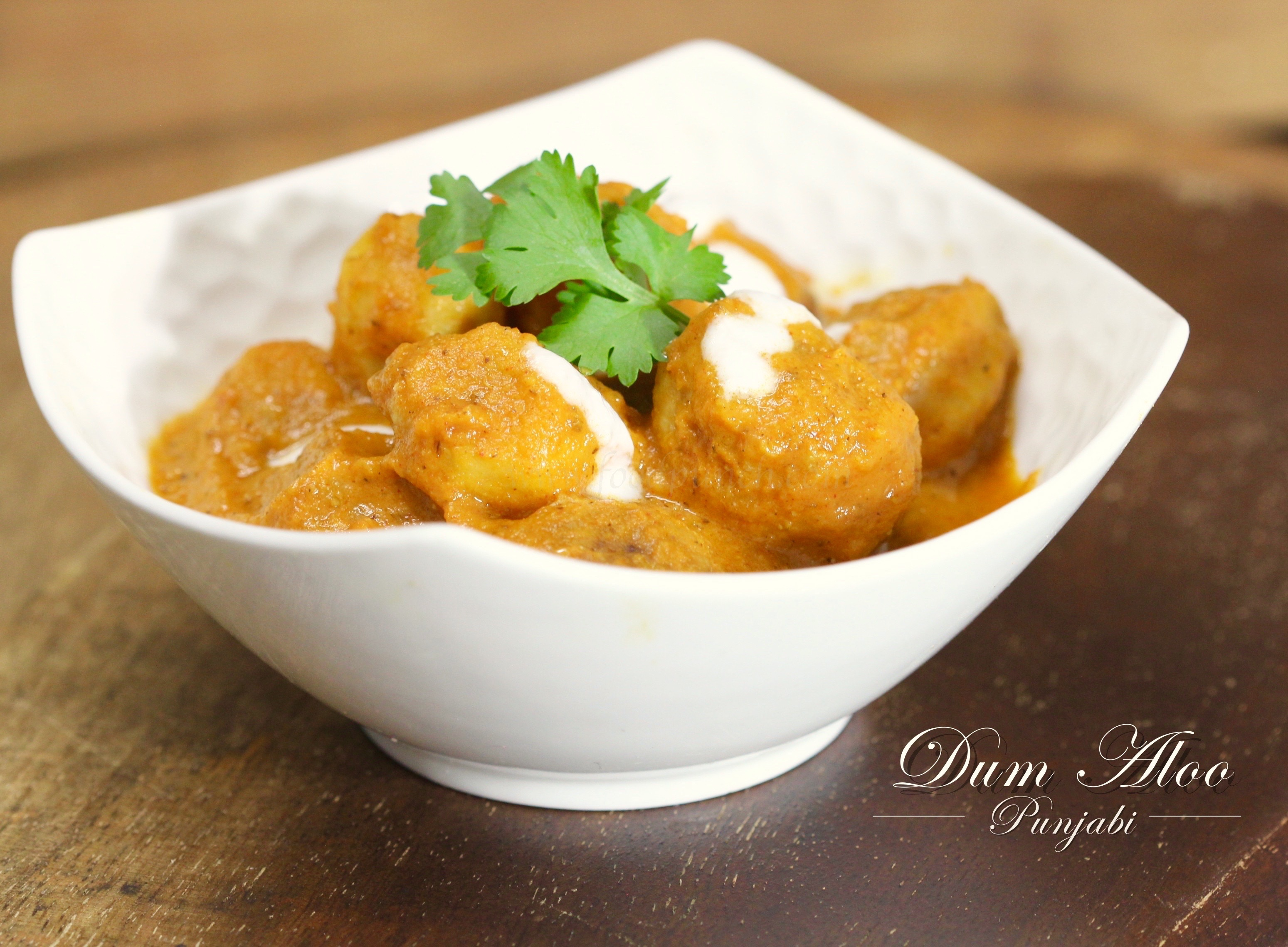 How to make Dum Aloo Punjabi recipe