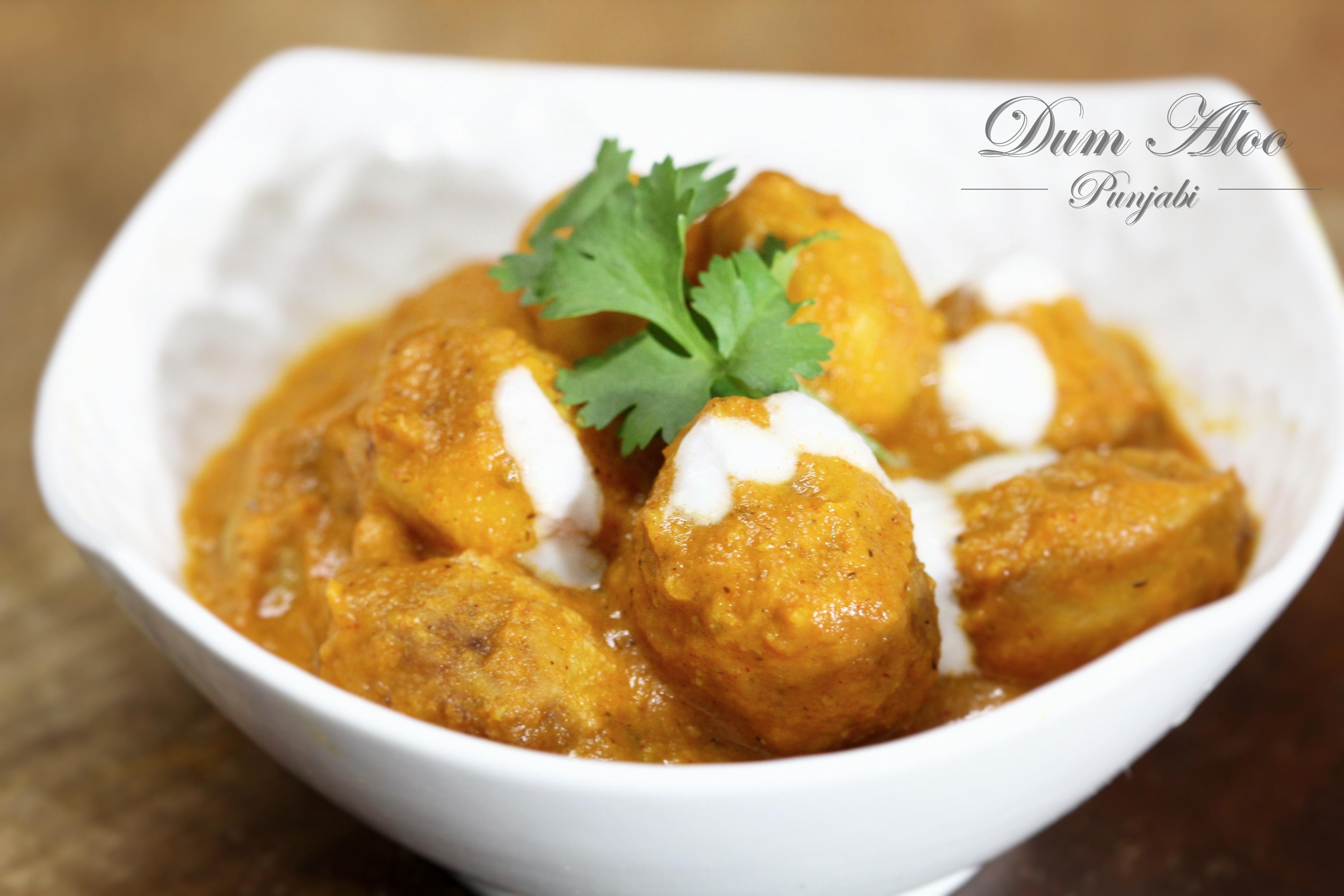 Punjabi style Dum Aloo