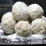 homemade coconut ladoo